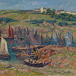 Sotheby's - Henry Moret - Sardines Catchers at Douelan, 1909