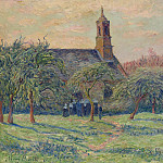 Sotheby's - Henry Moret - The Church of Clohars-Carnoet, 1897