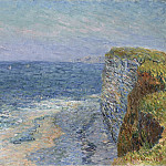 Sotheby's - Gustave Loiseau - The Seascape at Etretat, 1901
