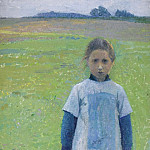 Sotheby's - Henri Martin - Young Girl in the Field