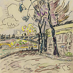 Картины с аукционов Sotheby's - Paul Signac - Paris, the Bridge of Arts, View to the Riverbank