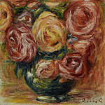 Sotheby's - Pierre Auguste Renoir - Vase with Roses
