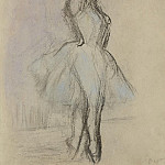 Картины с аукционов Sotheby's - Edgar Degas - Dancer on the Points