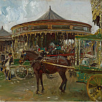 Sotheby's - Alfred James Munnings - The Carousel, 1913