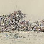 Sotheby's - Paul Signac - The Vert-Galant at Paris