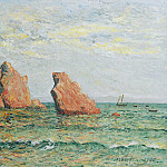 Sotheby's - Maxime Maufra - Lonely Rock at Morgat, 1900