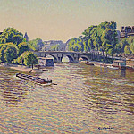Sotheby's - Gustave Cariot - Pont-Neuf at Paris, 1938-42