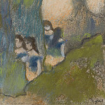 Sotheby's - Edgar Degas - Dancers behind the Scenes