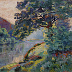 Картины с аукционов Sotheby's - Armand Guillaumin - The Echo Rock