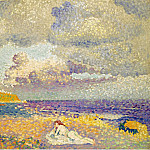 Sotheby's - Henri Edmond Cross - Before the Storm (The Bather), 1907-08