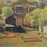 Sotheby's - Daniel Garber - In the Springtime, 1954