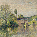 Sotheby's - Maxime Maufra - The Watermill, Les Andelys, 1902