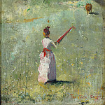 Картины с аукционов Sotheby's - Charles Conder - The Fatal Colors, 1888