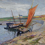 Sotheby's - Paul Madeline - The Boat on the Seabank