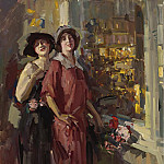 Sotheby's - Constantin Korovin - At the Window, 1923