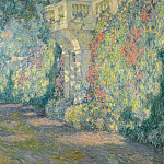 Sotheby's - Henri Le Sidaner - The Balustrade, Gates to the Terrace, 1924