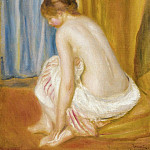Sotheby's - Pierre Auguste Renoir - Bather, 1893