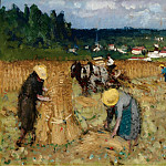 Sotheby's - Pierre-Eugene Montezin - The Harvest at By
