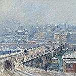 Sotheby's - Georges Manzana-Pissarro - The Bridge of Saint-Cloud under the Snow, 1905
