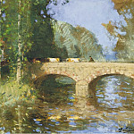 Sotheby's - Pierre-Eugene Montezin - Bridge upon the River