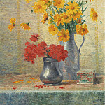 Картины с аукционов Sotheby's - Evert Pieters - Vase of Flowers