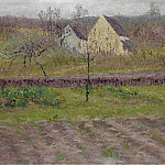 Sotheby's - Gustave Loiseau - Orchard in Autumn, 1898