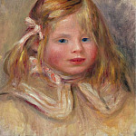 Sotheby's - Pierre Auguste Renoir - Coco with Pink Ribbon, 1905