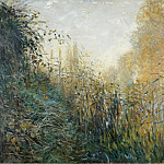 Картины с аукционов Sotheby's - Claude Monet - The Reeds (study)