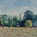 Картины с аукционов Sotheby's - Alfred Sisley - Edge of the Forest, 1895