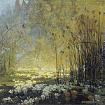 Sotheby's - Pierre-Eugene Montezin - The Pond with Waterlilies and Dragon-Flies