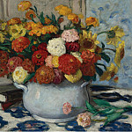 Sotheby's - Albert Andre - Vase of Flowers