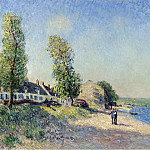 Картины с аукционов Sotheby's - Alfred Sisley - Saint-Mammes at Morning, 1885