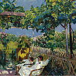 Siesta in the Garden, 1904, Хоакин Соролья-и-Бастида