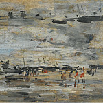Low-Tide, 1888-95, Eugene Boudin