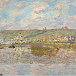 Late Afrternoon, Vetheuil, 1880, Claude Oscar Monet