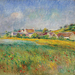 Картины с аукционов Sotheby's - Pierre Auguste Renoir - The Village of Bonnecourt