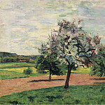 Картины с аукционов Sotheby's - Armand Guillaumin - Apple Trees Blooming, Ile-de-France, 1887