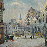 Sotheby's - Maxime Maufra - The Church of Saint-Nicolas des Champs, Saint-Martin Street, Paris, 1908