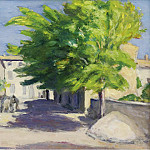 Sotheby's - Albert Andre - Village Street in Provence