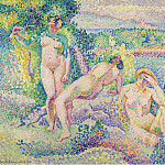 Картины с аукционов Sotheby's - Henri Edmond Cross - The Nymphs, 1906
