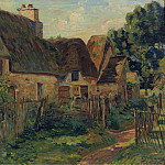 Картины с аукционов Sotheby's - Armand Guillaumin - Landscape of Ile de France