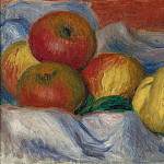 Картины с аукционов Sotheby's - Pierre Auguste Renoir - Still Life with Apples and Quince