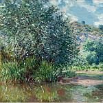 Картины с аукционов Sotheby's - Claude Monet - Landscape at Port-Villez, 1885