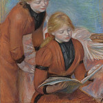 Sotheby's - Pierre Auguste Renoir - Reading, 1889