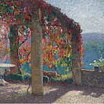Sotheby's - Henri Martin - The Arbour in the Southwest of Marquayrol in Autumn