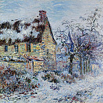 Snow Effect at Porte-Joie, 1901, Gustave Loiseau