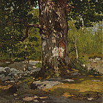 Sotheby's - Claude Monet - The Bodmer Oak, 1865