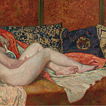 Sotheby's - Theo van Rysselberghe - Resting Nude, 1914
