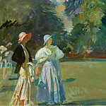 Картины с аукционов Sotheby's - Alfred James Munnings - Ascot, 1933