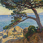Картины с аукционов Sotheby's - Theo van Rysselberghe - The Pin of Fossette, 1919